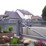 T-freitragendes Schiebetor-München-9007hp